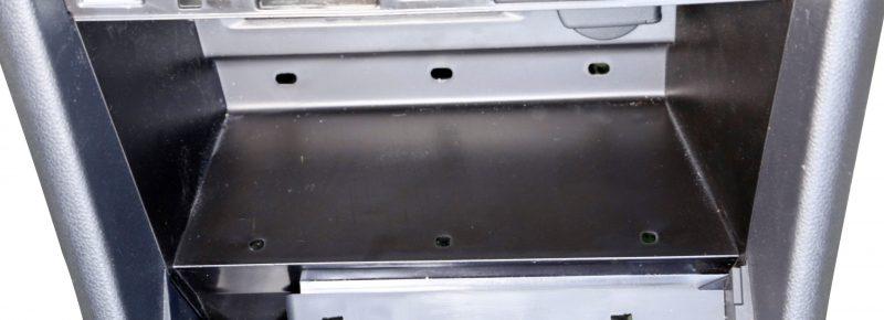 VW Tiguan center console closed tray