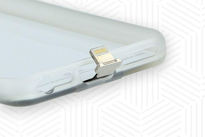 Ladestecker iPhone und Qi Hülle für iPhone 6, 6S, 7, 7S