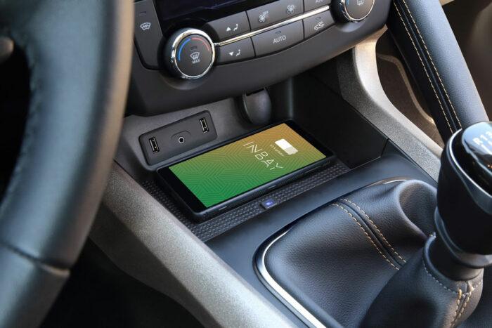 Inbay Qi-Ladeschale für Renault Kadjar inkl. Smartphone
