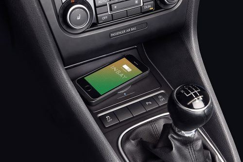 Inductive charging in your VW Eos