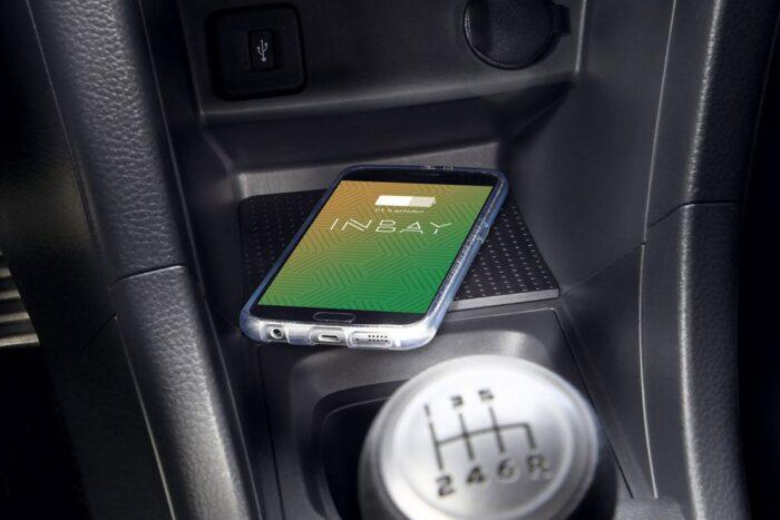 Inbay Qi-Ladeschale für Suzuki Swift