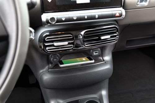 INBAY Wireless Charging im Citroen C4 Cactus