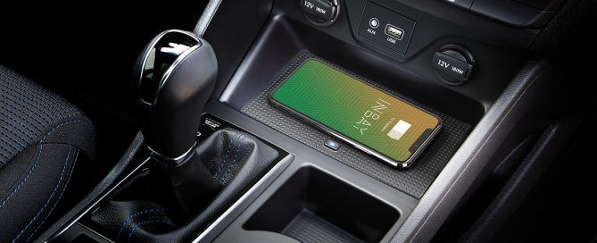 Wireless charging in your Hyundai Tucson