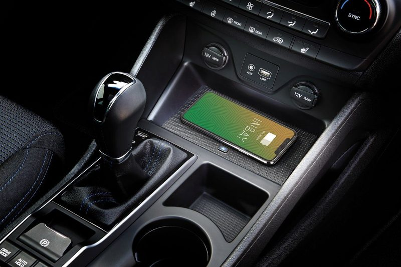 Wireless Charging im Hyundai Tucson