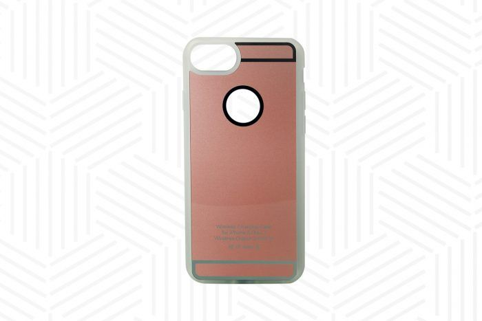 Ladehülle Qi-Standard iPhone 6, 6S, 7, 7S roségold
